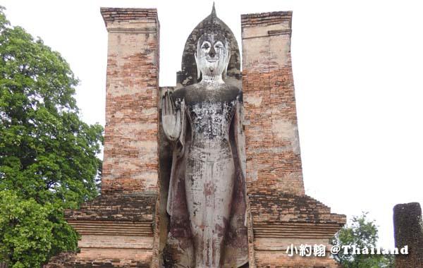 曼谷瑪哈泰寺 Wat Mahathat立佛