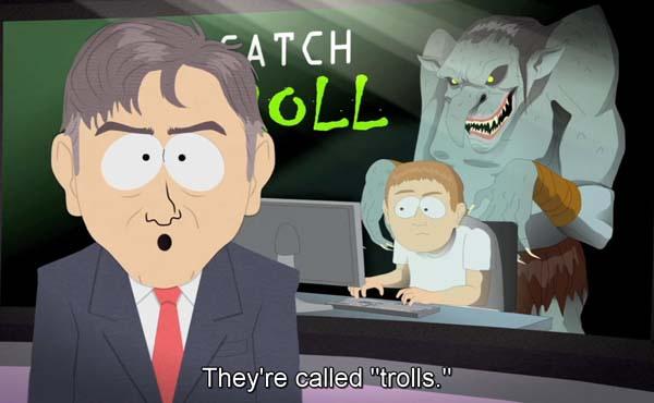 Trolls網路上躲在電腦前罵人