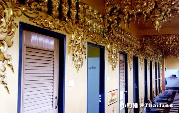 清萊白廟White Temple龍坤藝術廟Wat Rong Khun洗手間