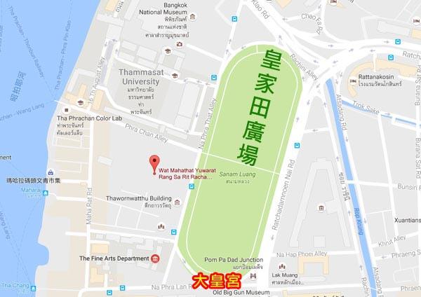 泰國曼谷Sanam Luang皇家田廣場map.jpg