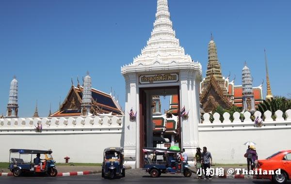 泰國曼谷大皇宮(The Grand Palace)白色大門.jpg