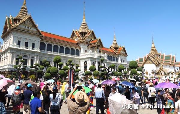 泰國曼谷大皇宮(The Grand Palace)陸客2.jpg