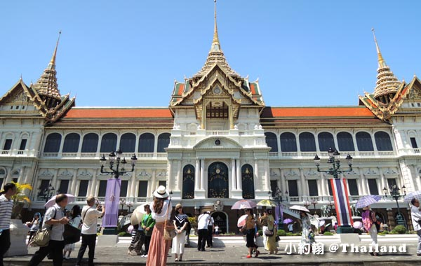 節基皇殿(Chakri Maha Prasat Throne Hall)