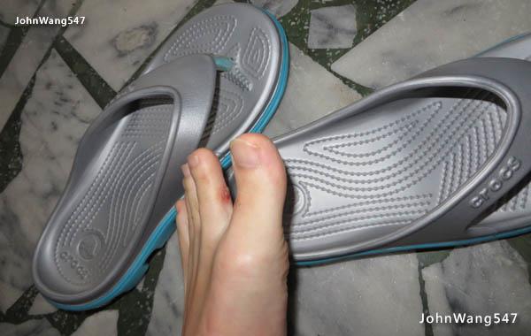 Crocs動力迪特人字拖 真的夾腳的夾腳托鞋1.jpg