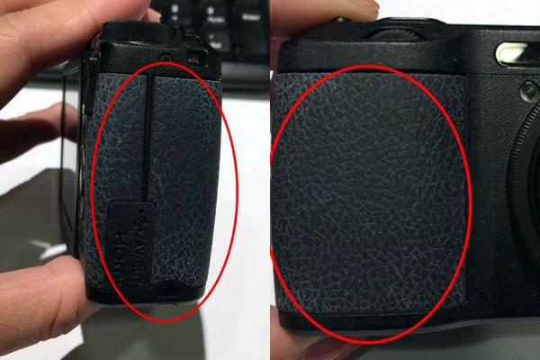 相機蒙皮受損