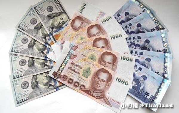 入境泰國身上須要2萬泰銖