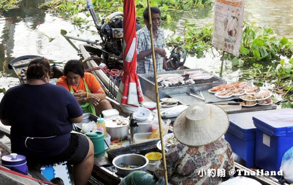 安帕瓦假日水上市場Amphawa Floating Market烤蝦.jpg