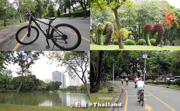 Sofitel So Bangkok騎單車Lumphini Park倫披尼