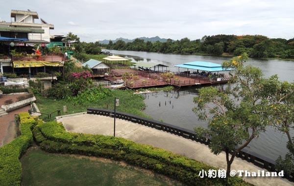 泰國北碧府River Kwai桂河大橋廣場碼頭.jpg