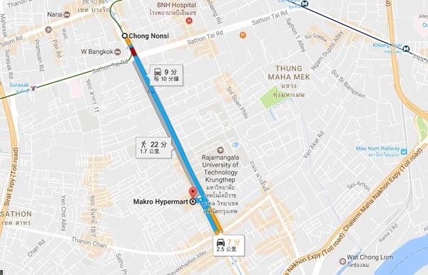Makro Hypermart, MAP.jpg