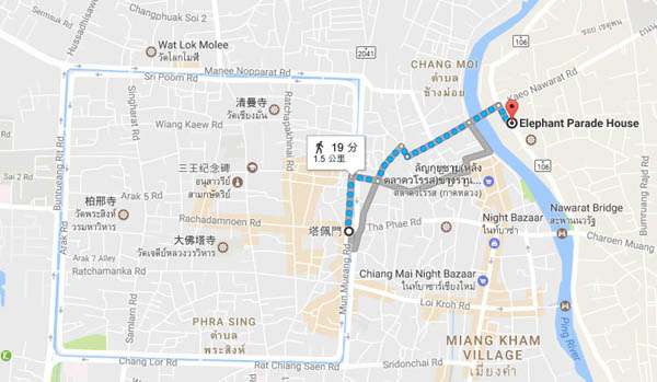 Elephant Parade House Chiang Mai map.jpg