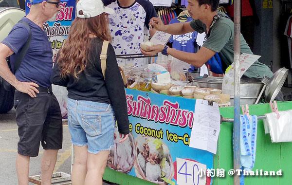 恰圖恰週末市集Chatuchak weekend market椰子冰.jpg