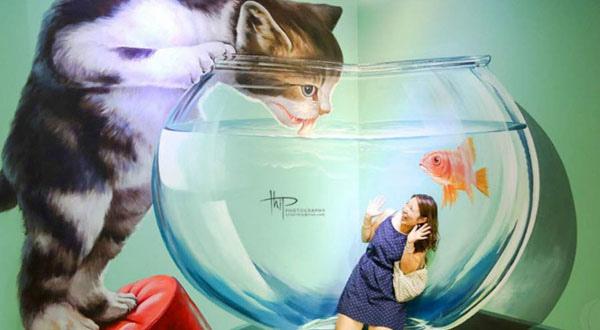 曼谷Art in Paradise 3D視覺博物館The Esplanade