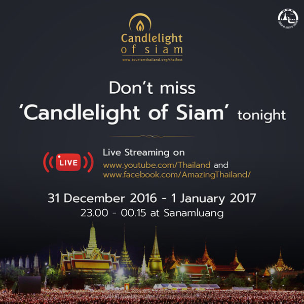 Amazing Thailand  Candle light Of Siam