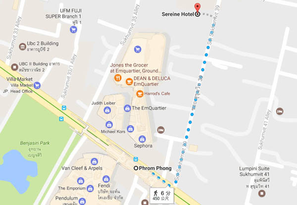 Sereine Sukhumvit 39 Residence BTS Phrompong MAP.jpg