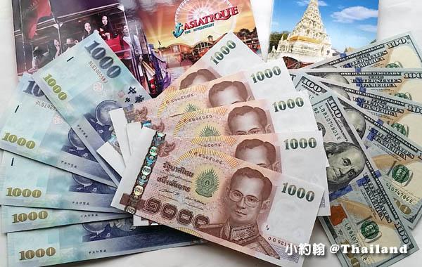 泰國自由行帶多少錢
