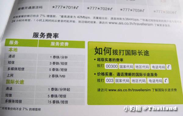 AIS 4G sim card guide中文說明