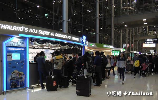 KLOOK泰國曼谷4G電話卡機場領取2