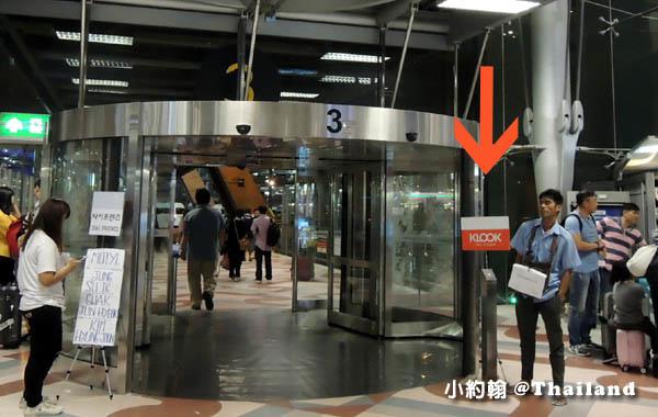 KLOOK泰國曼谷4G電話卡機場領取3