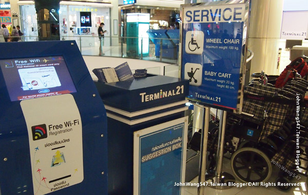 Terminal21Bangkok Asok wheel chair bab cart.jpg