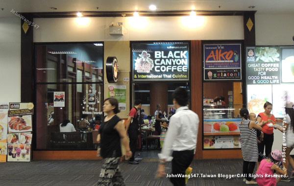 Black Canyon Coffee清邁機場