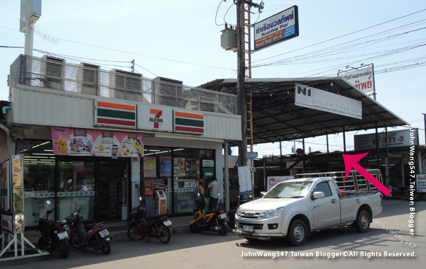 Banphe(Rayong)Koh Samed Bus station2.jpg