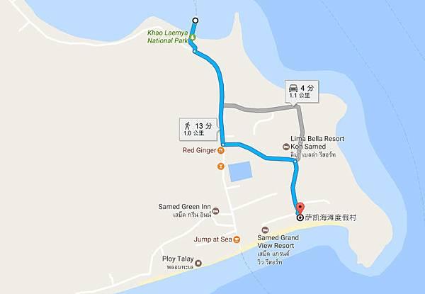 Sai Kaew beach Resort samed MAP.jpg
