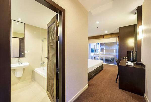 Qiu Hotel Sukhumvit room2