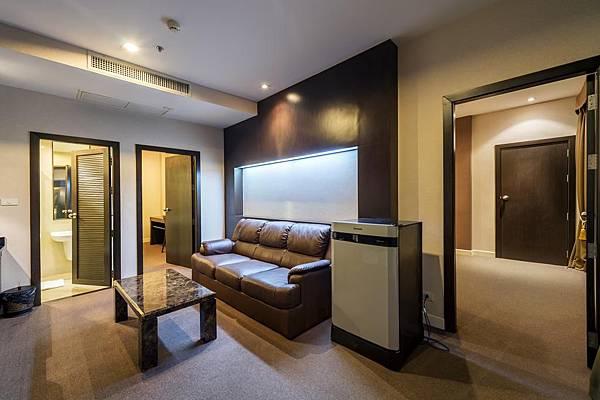 Qiu Hotel Sukhumvit family room2