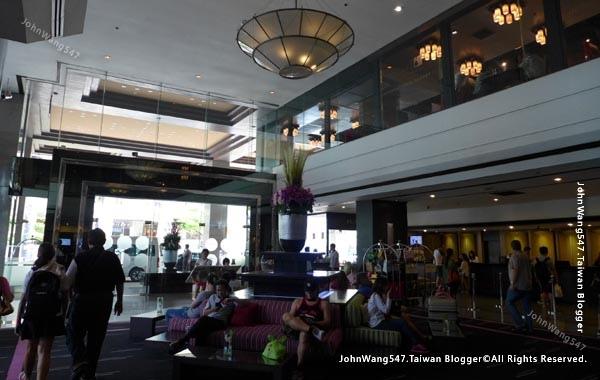 Novotel Siam Square Hotel lobby2016.jpg