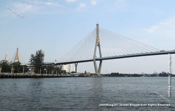 Kanchanaphisek Bridge Chao Phraya river Samut Prakan.jpg