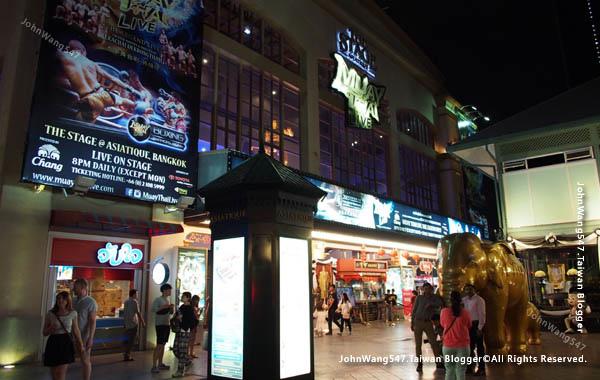 曼谷泰拳秀Muay Thai Live@Asiatique曼谷河濱夜市1.jpg