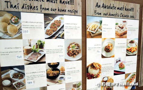 Kalpapruek Restaurant曼谷泰國菜餐廳menu