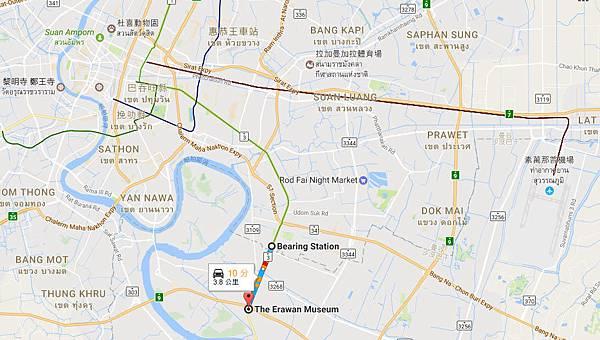 Bangkok The Erawan Museum MAP.jpg
