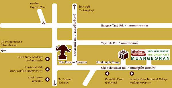 The Ancient City The Erawan Museum Map2.jpg