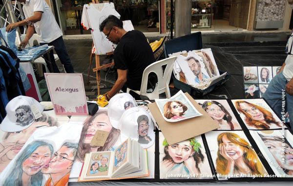 Bangkok Art Festival@Siam Square曼谷快閃市集3.jpg