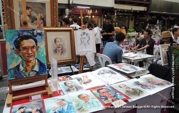 Bangkok Art Festival@Siam Square曼谷快閃市集4.jpg