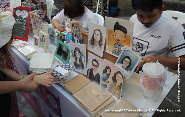 Bangkok Art Festival@Siam Square曼谷快閃市集7.jpg