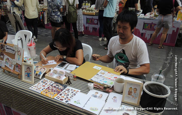 Bangkok Art Festival@Siam Square曼谷快閃市集8.jpg