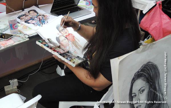 Bangkok Art Festival@Siam Square曼谷快閃市集9.jpg