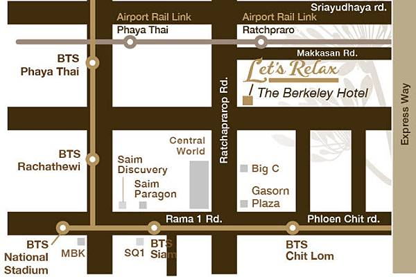 Let's Relax Spa in The Berkeley Hotel Pratunam MAP.jpg