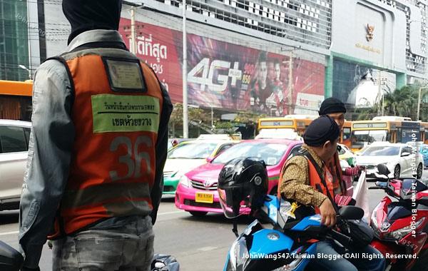 曼谷摩托車計程車