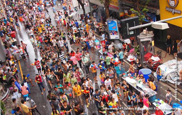 Songkran Festival Bangkok silom