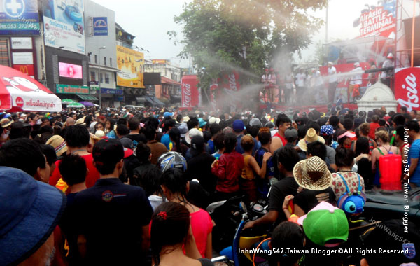 Songkran Festival Chiang Mai泰國新年清邁潑水節