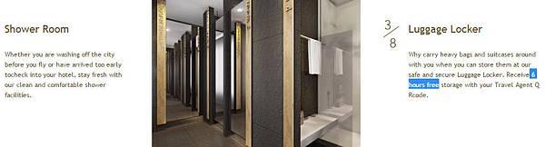 showdc bangkok Shower Room Luggage Locker