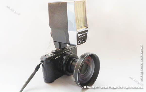 Panasonic DMC-LX7外接閃光燈轉接環廣角鏡