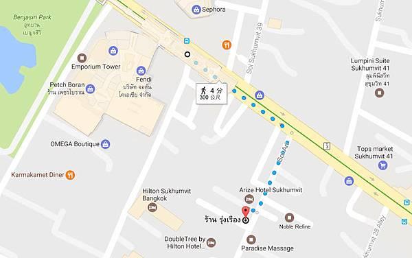 曼谷榮泰米粉湯Rung Reung Pork noodle MAP.jpg
