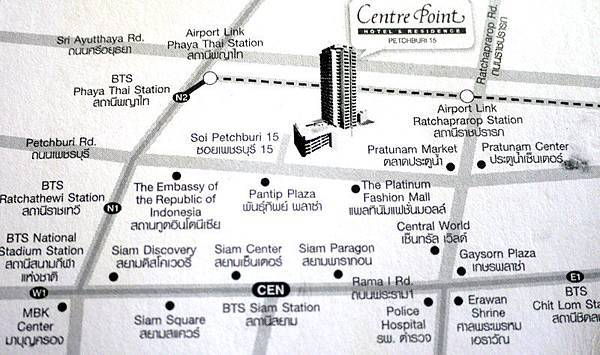 Centre Point Pratunam (Petchburi 15) MAP.jpg