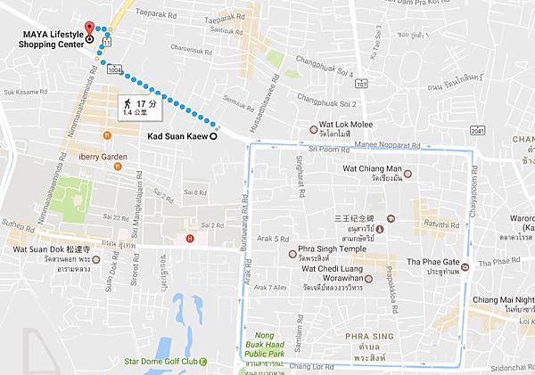 Central Kad Suan Kaew Chiang Mai MAP.jpg