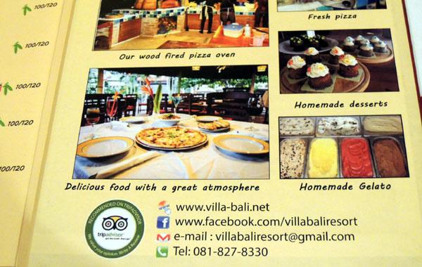 Bali Pizzeria Pizza@Villa Bali Resort Rayong6.jpg
